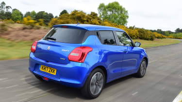 Suzuki Swift - rear action