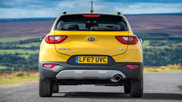 Kia Stonic UK review - rear