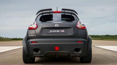 Nissan Juke-R rear