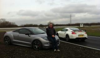 Peugeot RCZ-R vs Nissan 370z Nismo