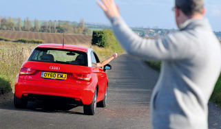Audi A1 header
