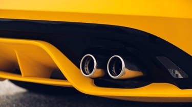 2020 Jaguar F-Type - exhaust