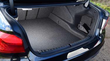 BMW 5 Series - boot
