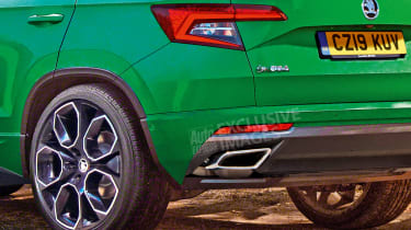 Skoda Karoq vRS - rear detail (watermarked)