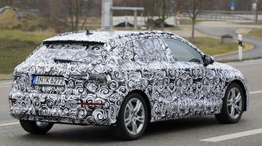 2019 Audi A3 rear