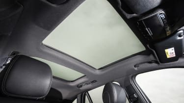 Mercedes C-Class Coupe - panoramic roof