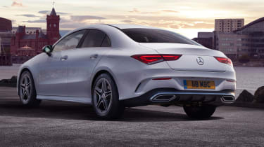 Mercedes CLA 250 AMG Line - rear static