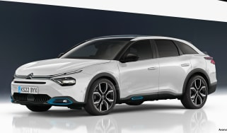 2021 Citroen flagship - front exclusive image