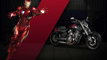 Harley Davidson Marvel Super Hero Customs - Iron Man Boldness