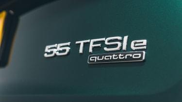 Audi Q5 55 TFSI e - 55 TFSI e badge