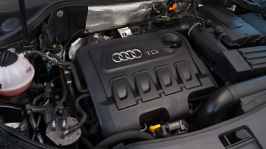 Used Audi Q3 - engine