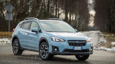 Subaru XV - front action