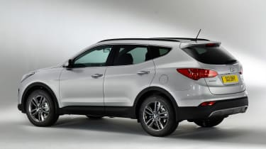 Used Hyundai Santa Fe - rear