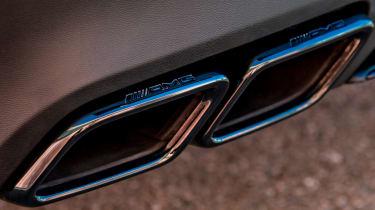 Mercedes AMG GLC 63 S - exhaust