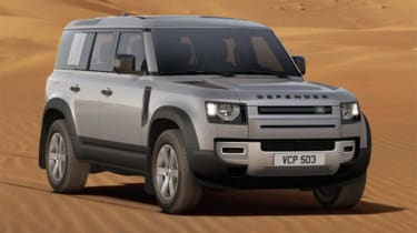 James Howe Land Rover Defender