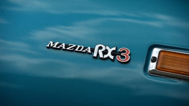Mazda RX-3 - badge