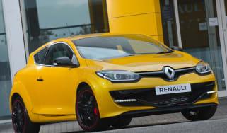 Renaultsport Megane 275 Cup - front three quarter