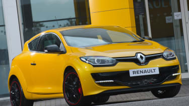 Renaultsport Megane 275 Cup - front three quarter