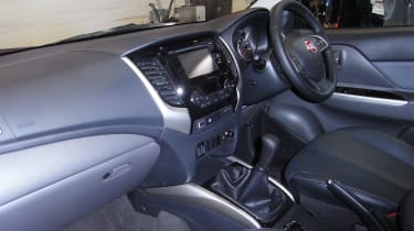 Fiat Fullback pick-up - show interior 2
