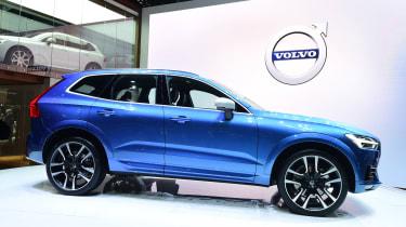 Volvo XC60 Geneva show - side