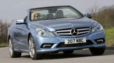 Best cheap convertibles - Mercedes E-Class