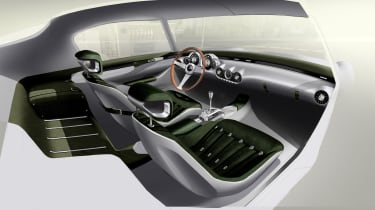 GTO Engineering Project Moderna - racing green leather interior