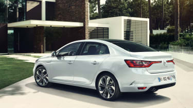 New Renault Megane Grand Coupe - rear quarter