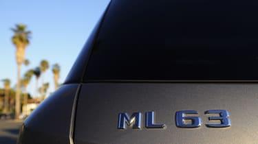 Mercedes ML63 AMG badge