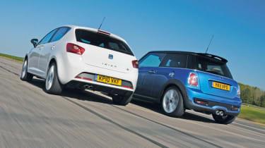 Cooper SD vs Ibiza FR TDI header