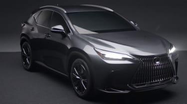 New Lexus NX leaked