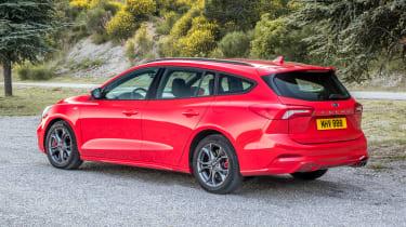Ford Focus Estate - rear static
