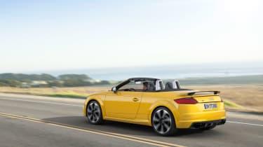 Audi TT RS - rear three quarter