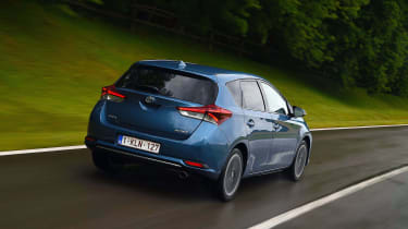 New Toyota Auris 2015 rear