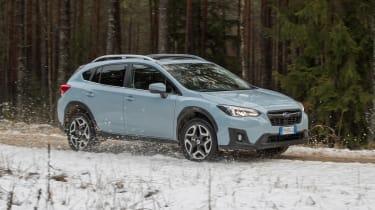 Subaru XV - side/front