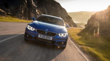 BMW 4 Series 420d M Sport action
