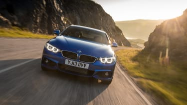 BMW 4 Series 420d M Sport action
