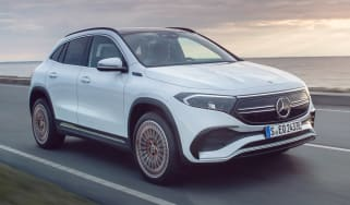 Mercedes EQA - front
