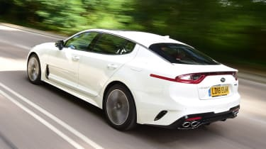 Kia Stinger long-term test: first report - rear action