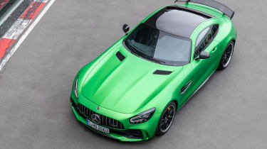 Mercedes-AMG GT R - above