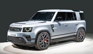 Land Rover Defender SVR - front