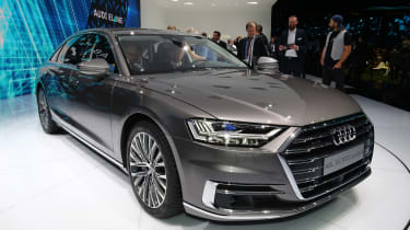 Audi A8 - Frankfurt front