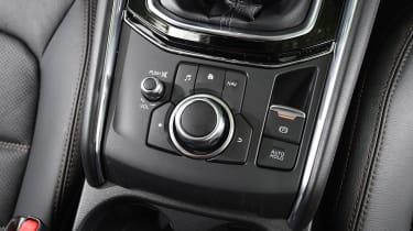 Mazda CX-5 vs Skoda Kodiaq vs VW Tiguan - Mazda CX-5 instruments