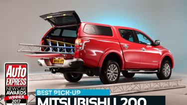 Pick-up of the Year 2017 - Mitsubishi L200