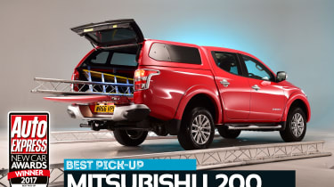 Pick-up of the Year 2017 - Mitsubishi L200