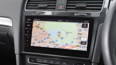 Volkswagen e-Golf - sat-nav