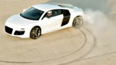Drifting for the fans