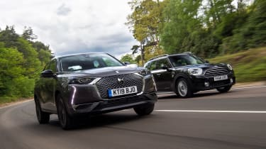 DS 3 Crossback vs MINI Countryman - head-to-head