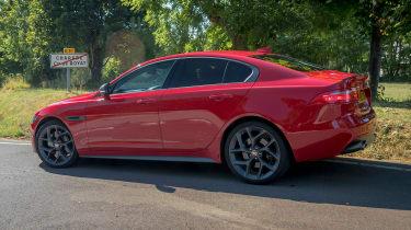Jaguar XE side profile