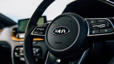 Kia XCeed 1.4 petrol - steering wheel