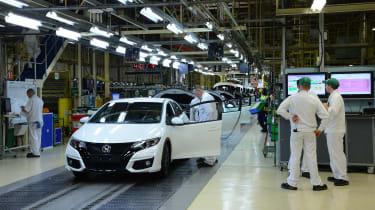Honda's Swindon factory - Honda Civic